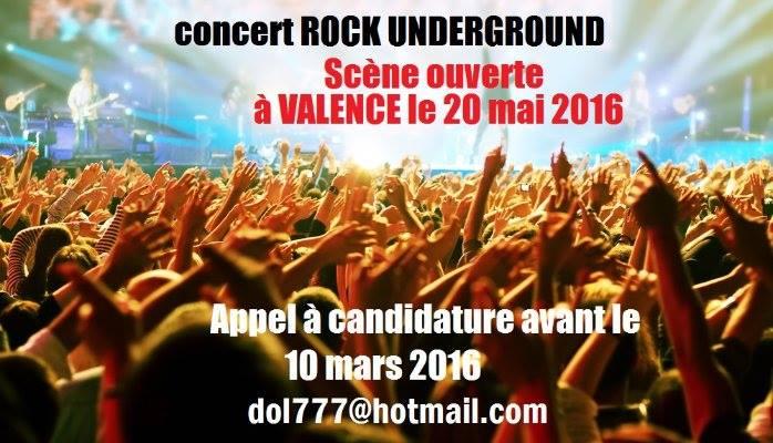 Hurricane partenaire / Concert Rock Underground