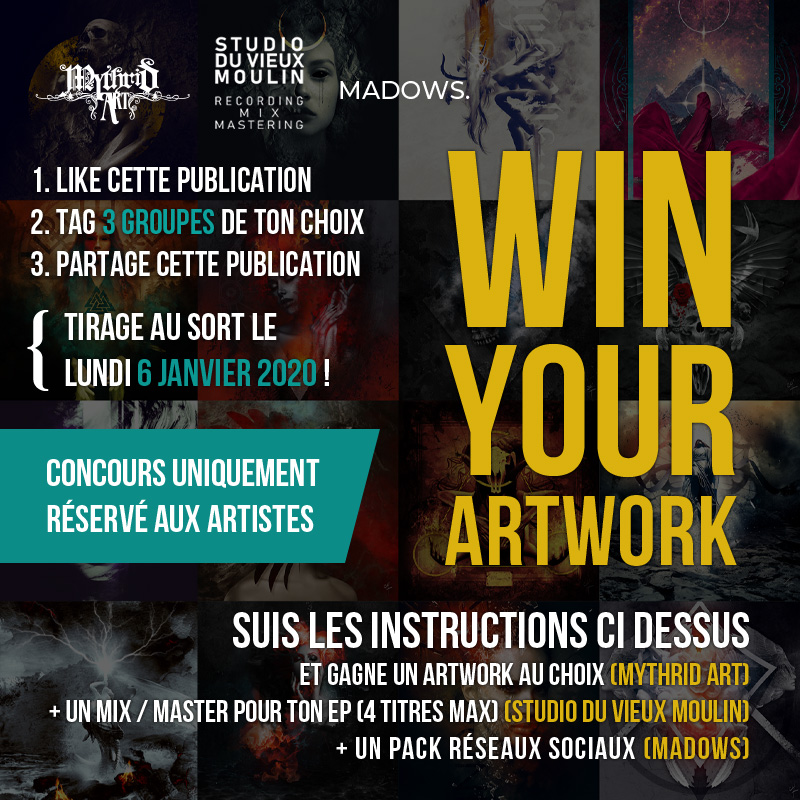 "Concours ""WIN YOUR ARTWORK """