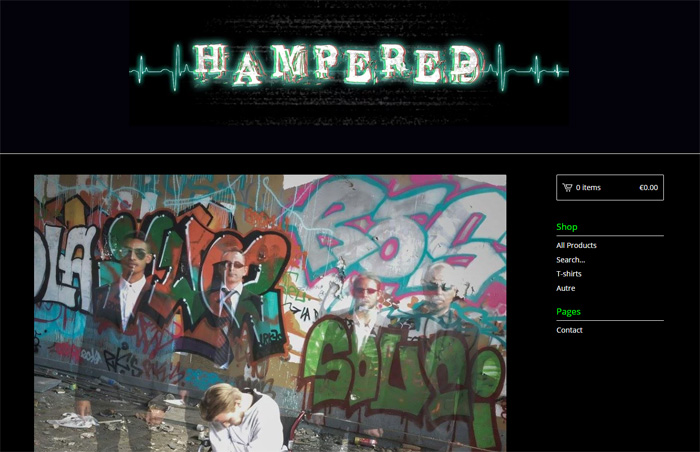 Hampered - New merch