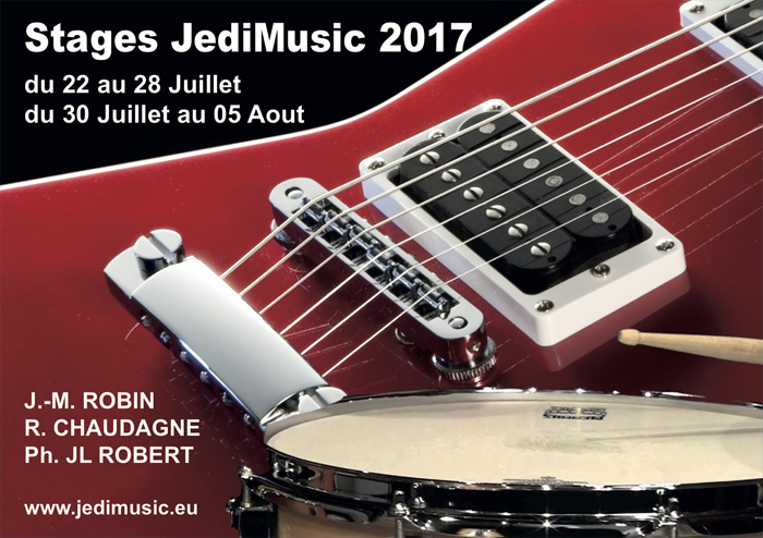 Stages JediMusic 2017